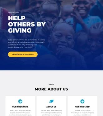 Создание сайта на шаблоне